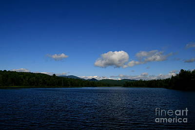Photograph - Surrounded By Blues On Lake Umbagog  by Neal Eslinger