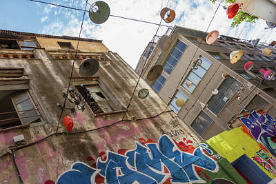 City Photograph - Surrounded By Street-art In Athens, Psirri Neighborhood by Iordanis Pallikaras