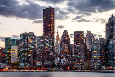 New York Skyline Photograph - Surrounded By The City by Az Jackson