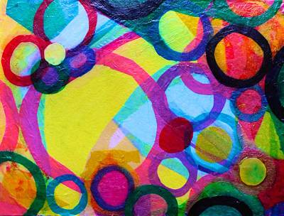 Mixed Media - Surrounded by Polly Castor