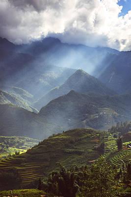Photograph - Surroundings Around Sapa City, In Sapa, Vietnam.  by Eduardo Huelin