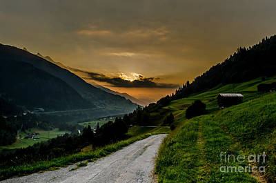 Photograph - Surselva Valley by Jeffrey Teeselink