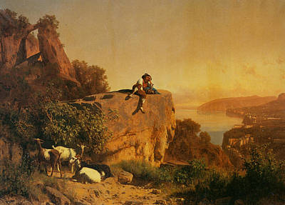 Zorn Painting - Surveying The Vista by MotionAge Designs