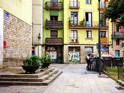 Photograph - Surviving In Barcelona by John Rizzuto