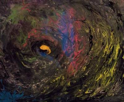 Mixed Media - Surviving The Swirl by Stephen King