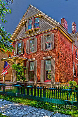 Susan B Anthony House Art Print