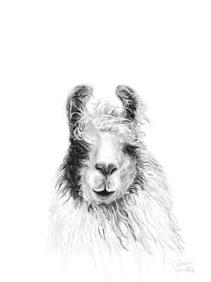 Animals Drawings - Susan by K Llamas