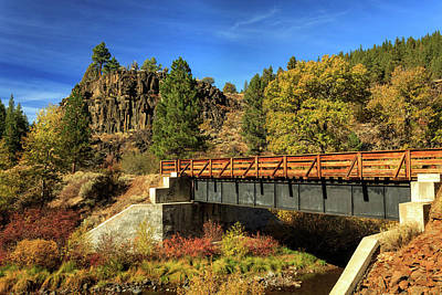 Photograph - Susan River Bridge On The Bizz by James Eddy