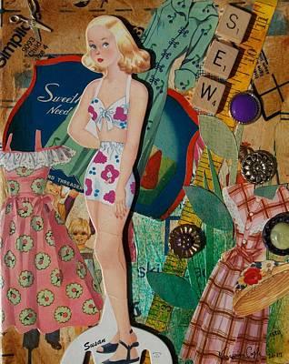 Mixed Media - Susan by Virginia Coyle