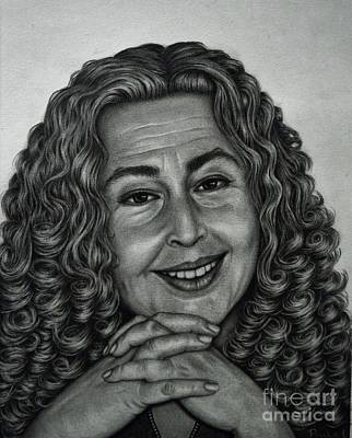 Drawing - Susanne by Paula Ludovino