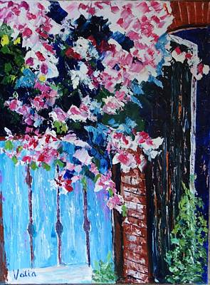 Painting - Susan's Garden by Valerie Curtiss