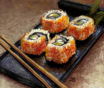 Sushi 2 Original by Susan Jenkins
