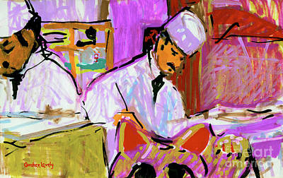 Painting - Sushi Bar  by Candace Lovely