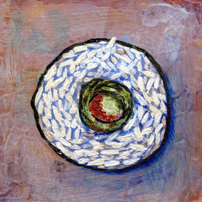 Painting - Sushi By Number 1 by Janelle Schneider