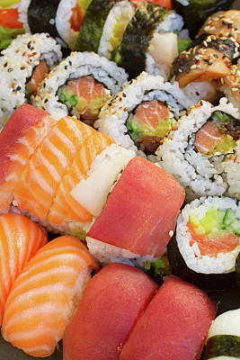 Sushi Dish Art Print