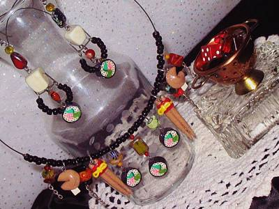 Sculpey Jewelry - Sushi Fun Jewelry Set by Jamie Pool