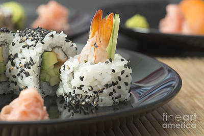 Photograph - Sushi In Restaurant by Deyan Georgiev