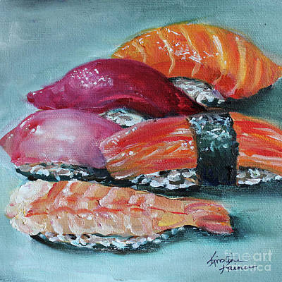 Painting - Sushi by Kristine Kainer