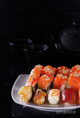 Photograph - Sushi Set II by Anastasy Yarmolovich