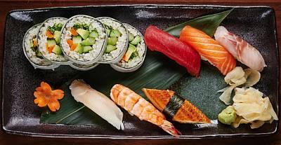 Digital Art - Sushi by Super Lovely