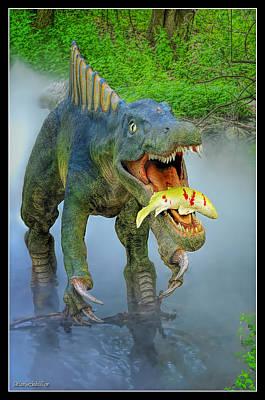 Photograph - Sushomimus Dinosaur by LeeAnn McLaneGoetz McLaneGoetzStudioLLCcom
