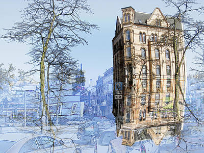 Hamburg Digital Art - Susi One by Joerg Bernhard Klemmer