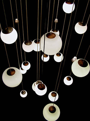 Photograph - Suspended - Balls Of Light Art Print by Jane Eleanor Nicholas