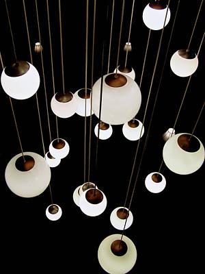 Suspended - Balls Of Light Art Print Art Print