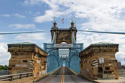 Photograph - Suspension Bridge Wide Angel by Scott Meyer