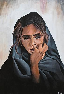 Disbelief Painting - Suspicion by Bara Walker