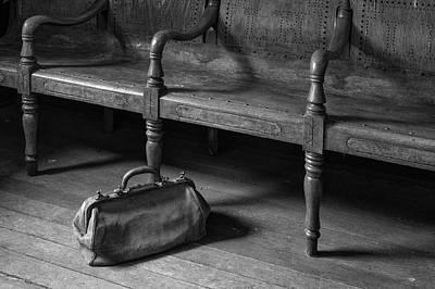 Photograph - Suspicious Baggage by Denise Bush