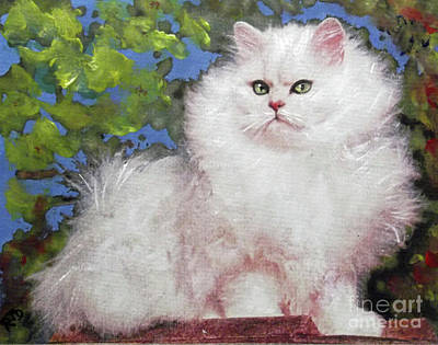 Painting - Suspicious Princess by Richard James Digance