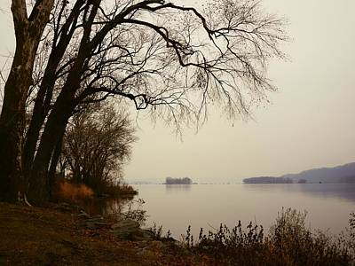 Susquehanna River Near Veterans Memorial Bridge Art Print