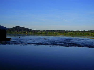 Photograph - Susquehanna River From At Bridge by Raymond Salani III