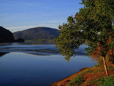 Photograph - Susquehanna River From The At 2  by Raymond Salani III