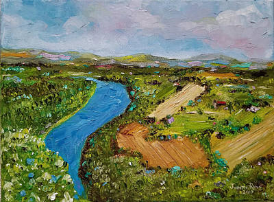 Painting - Susquehanna Valley by Judith Rhue