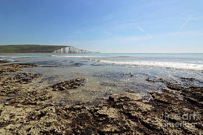 Photograph - Sussex Coast by Julia Gavin