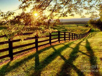 Sussex County Sunset Art Print