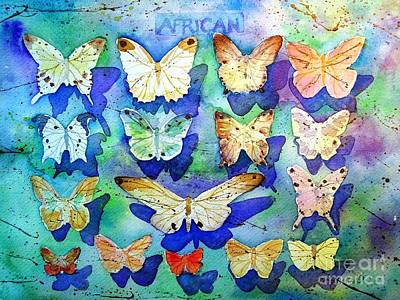 Ecological Painting - Sustainable African Butterflies by Diane Splinter