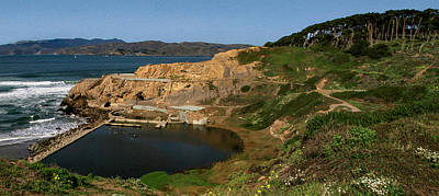 Photograph - Sutro Baths San Francisco Panorama by Bonnie Follett