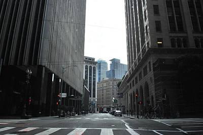 Photograph - Sutter Street - San Francisco Street View by Matt Harang