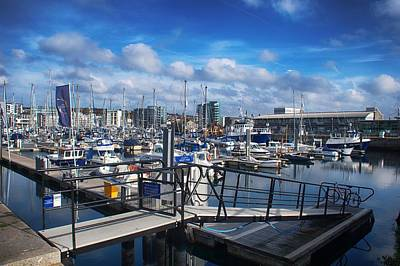 Photograph - Sutton Harbour by Chris Day