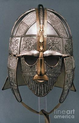 Painting - Sutton Hoo Helmet by Granger