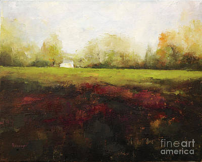 Sutton Road Farm Print by Cindy Roesinger
