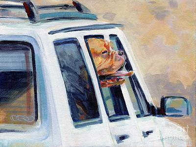 Mastiff Painting - Suv Ammo by Kimberly Santini