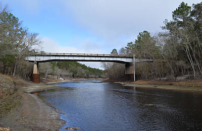 Photograph - Suwanee River Bridge - County Road 6 by rd Erickson