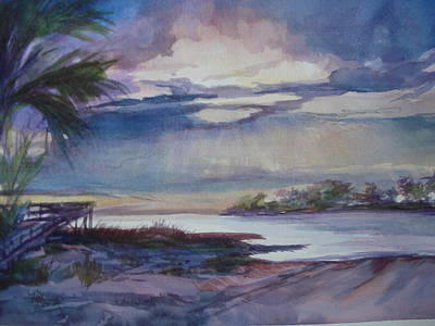 Suwannee River Confluence Original by Marilyn Masters