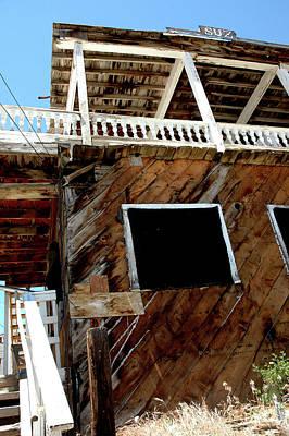 Decay Photograph - Suz Virginia City Nevada by LeeAnn McLaneGoetz McLaneGoetzStudioLLCcom