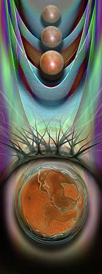 Surrealism Digital Art Rights Managed Images - Oh Suzanne Royalty-Free Image by Steve Sperry