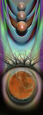 Digital Art - Suzanne by Steve Sperry